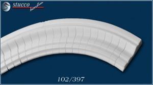 Fassadenstuck flexible Zierleisten Oxford 102