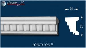 Fensterbankprofil Jakarta 106-F unbeschichtet
