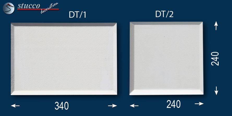 Glatte Bossensteine mit stoßfester Beschichtung in 2 verschiedenen Größen
