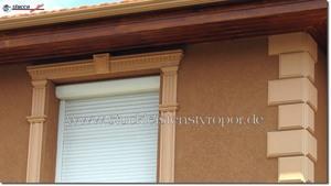 Fassadenprofile, Zierornamente und Bossensteine