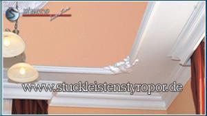 Styropor Deckenleisten Wandleisten