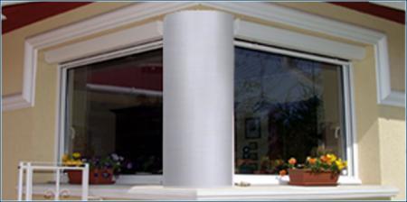 Stuck Säulen aus Styropor