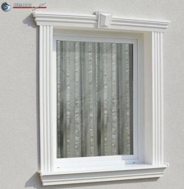 Komplette Alu Aussenfensterbank 124