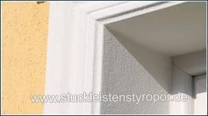Fassadenprofile bilden rechte Winkel