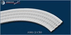 Flexible Stuckleiste Freetown 100 für Innenbögen über Fenstern und Türen