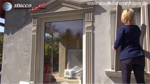 Zweites Fensterlaibungsprofil am Fenster anbringen