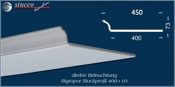 L-förmiges Stuckprofil Bayern 400+10