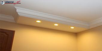 Direkte Beleuchtung mit LED Spotlampen