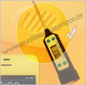 Indirekte Beleuchtung - Temperaturmessung
