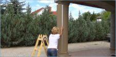 Beschichtete Säulen, Säulen für den Außenbereich