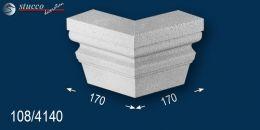 Fassadenstuck beschichteter Schlussstein Ankara 108-DF