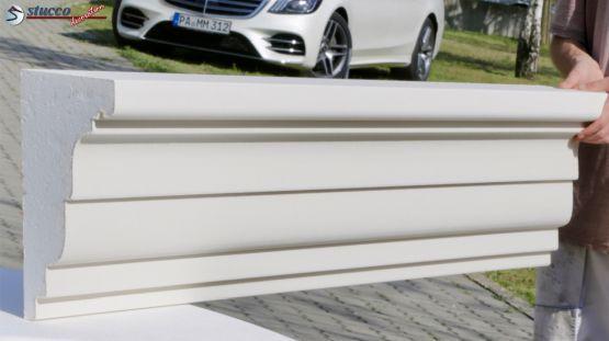 Beschichtetes Dachgesims Stuckprofil