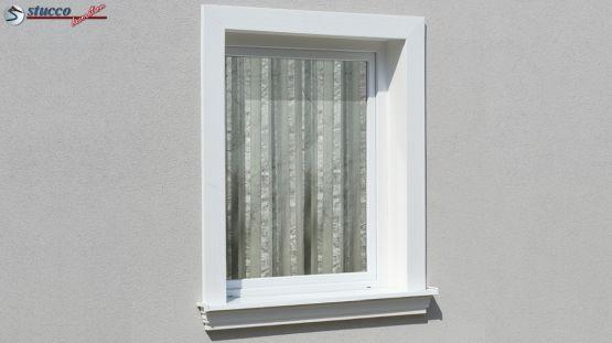 Fassadenprofile als Fensterrahmen