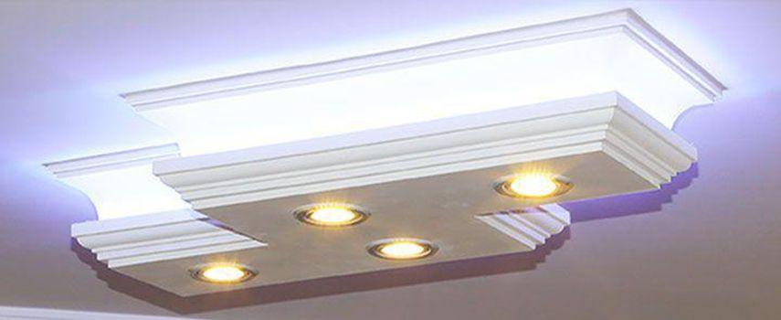 Stuckleuchten Für Direkte Und Indirekte LED Beleuchtung U2013 Eine Phänomenale  Lösung