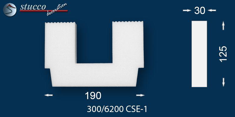 LED Einbauleuchten mit Stuckleiste Dresden 300