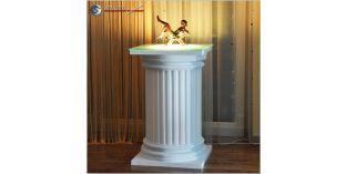 Dekosäulen Hartschaum ODK-2 480/768 mit Beleuchtung