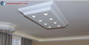 LED Stucklampe Trier 14/1000x500-1 mit LED Spots