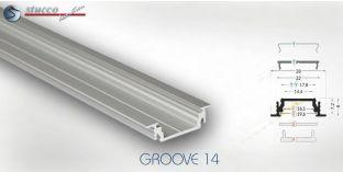 LED Aluminiumschiene GROOVE 14