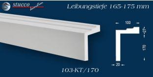 L-Profil für Laibung und Faschen Bangkok 103-KT 165-175 mm