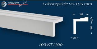 L-Profil für Laibung und Faschen Bangkok 103-KT 95-105 mm