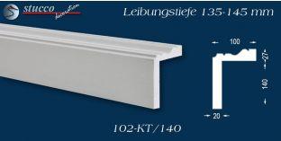L-Profil für Laibung und Faschen Oxford 102-KT 135-145 mm