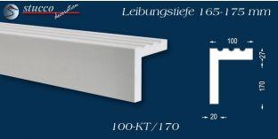 L-Profil für Laibung und Faschen Freetown 100-KT 165-175 mm