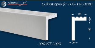 L-Profil für Laibung und Faschen Freetown 100-KT 185-195 mm