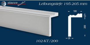 L-Profil für Laibung und Faschen Oxford 102-KT 195-205 mm