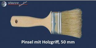Pinsel mit Holzgriff, 50 mm