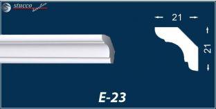 Styropor Stuckleisten E-23