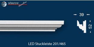LED Stuckleiste für indirekte Beleuchtung Berlin 201