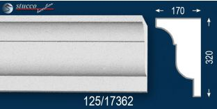 Beschichtetes Gesims Styropor Köln 125