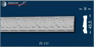 Styropor Deckenleisten und Wandleisten, Zierleiste B10