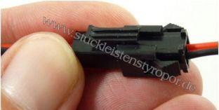 Anschlusskabel zu LED Strips mit 1 Buchse und 1 Stecker