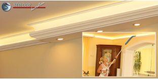 L-Profil für Kombi Beleuchtung LED Essen 270+202 PLEXI PLUS