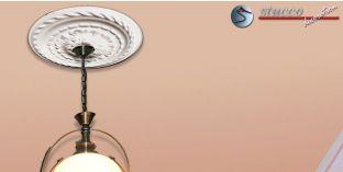Stuck Rosette Marbet Design® R6