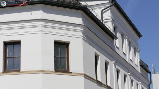 Beschichtete Stuckprofile Fassade