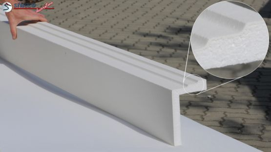 L-Profil für Fensterlaibung