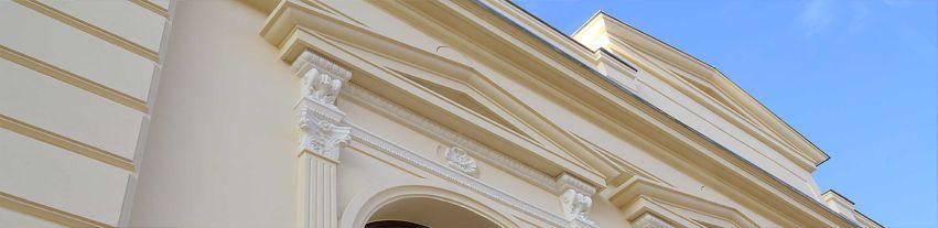 Beschichtete Fassadenprofile anbringen I.