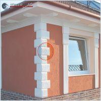 117 Fassaden Idee Bossensteine Und Dachgesims Zur Fassadengestaltung