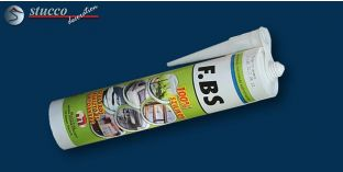 FBS Silikonkleber für Fliesen, Kunststoff-, Metall-, Glas- und Holzflächen
