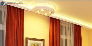 LED Stuckprofil 'Essen 400+2x202 PLEXI PLUS'