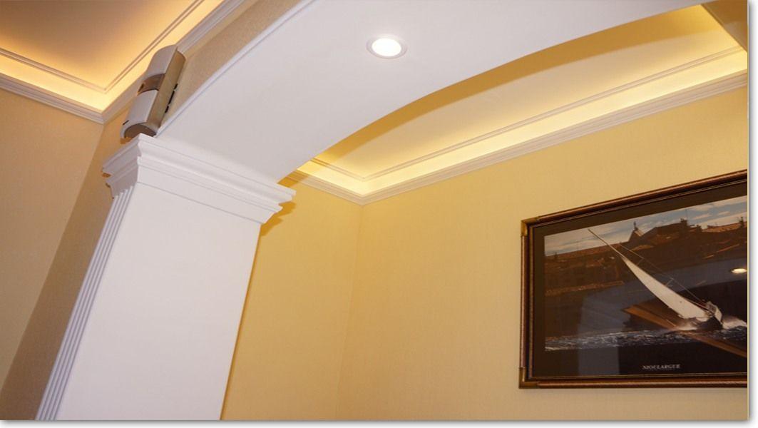 styroporleisten f r indirekte beleuchtung. Black Bedroom Furniture Sets. Home Design Ideas