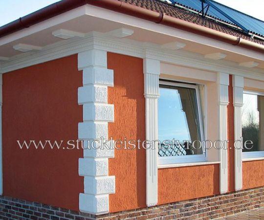 Fassaden Ideen dekoideen für stuck dekorbau