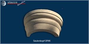 Kapitell OFKK mit Kunstharz-Quarzsand-Beschichtung für Säulen