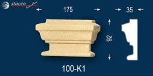 Fassadenstuck beschichtet Titus 100-K1