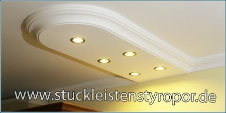 LED-Spots in der Stuckleiste Trier 400+14