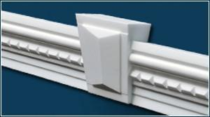 Fassadenprofile ohne Beschichtung